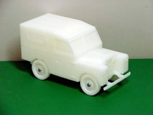 3D Printed Toy Land Rover