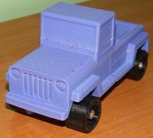 Toy Jeep Truck