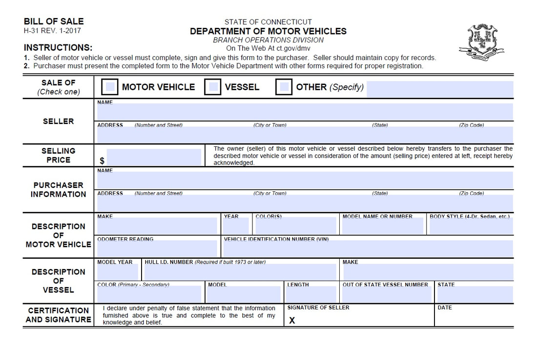 Car Bill Of Sale Printable Pdf Template As Is Bill Of Sale
